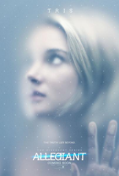 Промо-постер фильма «Дивергент, глава 3: За стеной»