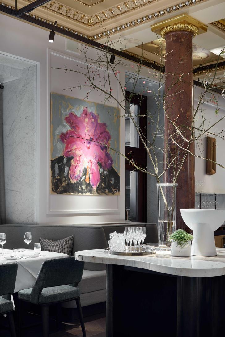 Фото №5 - Ресторан Savva по дизайну Ирины Глик