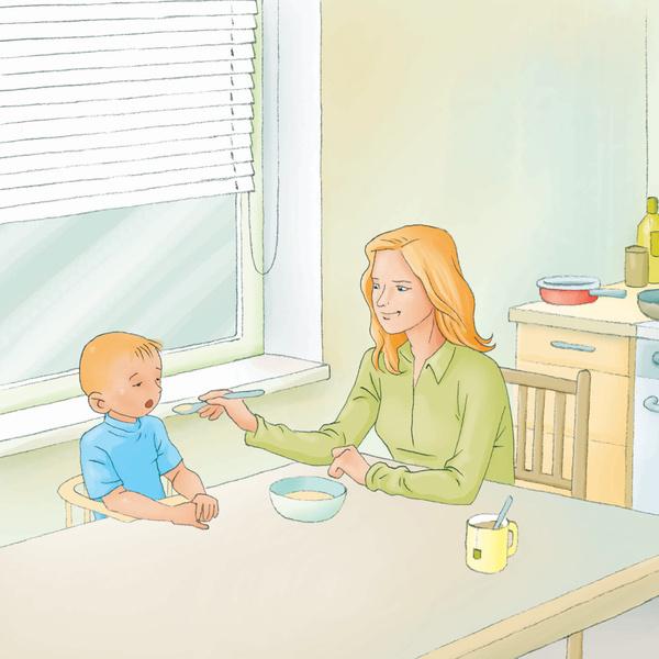 Фото №1 - Как обезопасить малыша от ожогов?