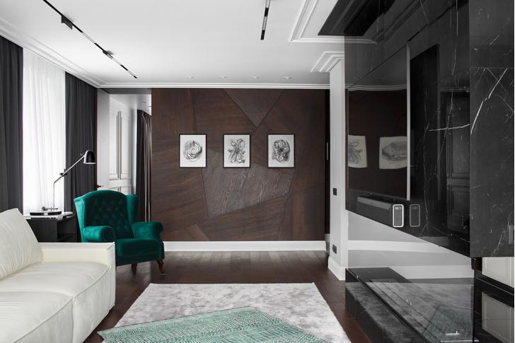 Фото №6 - Современная квартира с камином во Владивостоке