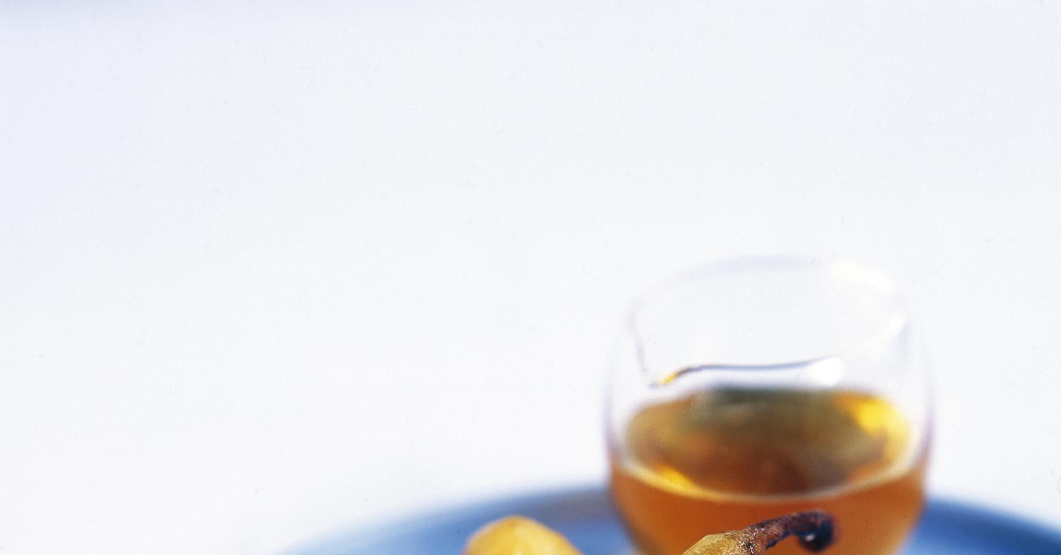Запеченные груши с медово-брусничной начинкой