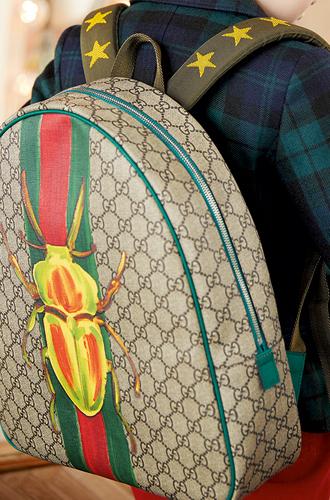 Фото №14 - Золотая карусель: лукбук осенне-зимней детской коллекции Gucci 2016/17