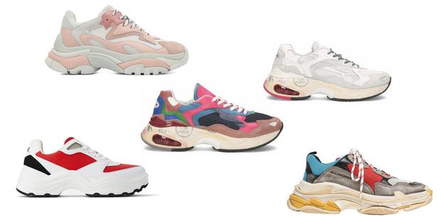 Фото №2 - Что купить: 5 кроссовок в стиле daddy`s shoes для самой стильной весны