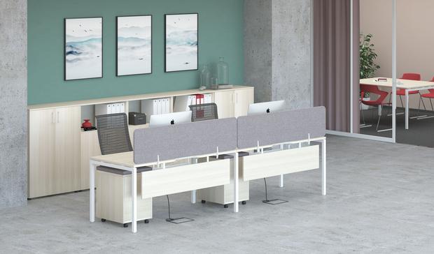 Фото №3 - Мебель для офиса: плавные формы и металл