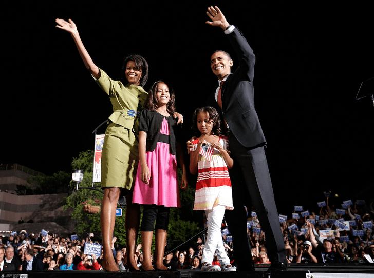 Фото №3 - Как большая политика лишила Мишель Обаму Рождества