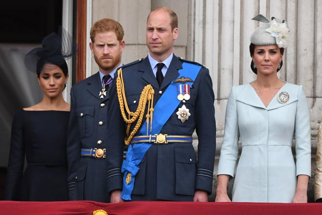 Фото №10 - Герцоги Кембриджские и Сассекские вместе вышли на работу