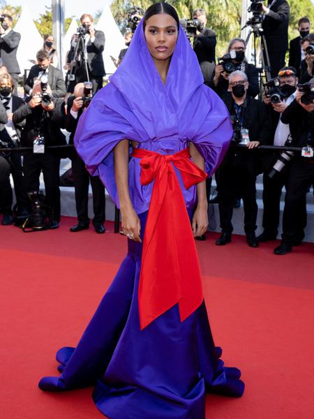 Тина Кунаки, модель, каннский кинофестиваль, канны, фестиваль, звезды, красная дорожка