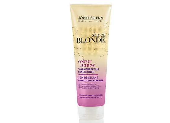 Кондиционер для окрашенных волос, Sheer Blonde Color Renew Tone, John Frieda