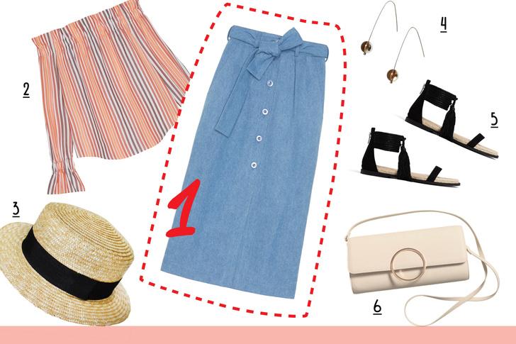 Фото №5 - С чем носить джинсовую юбку