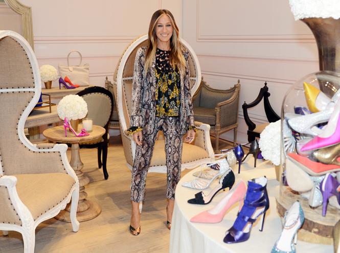 Фото №2 - Кэти Перри, Сара Джессика Паркер и другие звезды, создающие обувь
