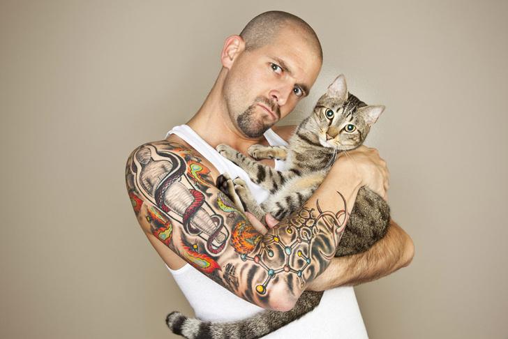 Фото №1 - Людей с татуировками признали более агрессивными
