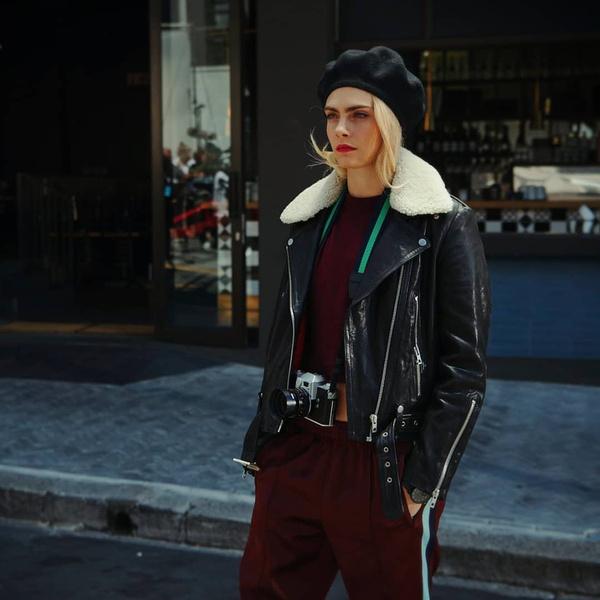 Фото №4 - Гид по стилю: повторяем простые, но стильные образы Кары Делевинь