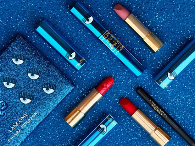 Фото №2 - Эти голубые глазки: новая коллекция макияжа Lancôme х CHIARA FERRAGNI