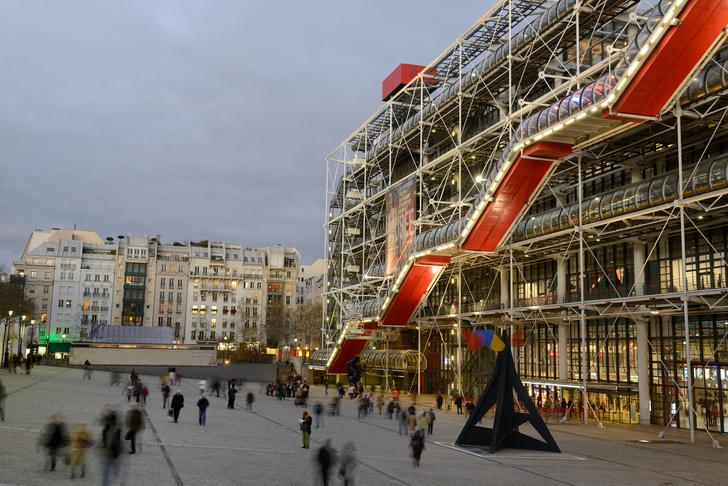 Фото №2 - Центр Помпиду в Париже закроется на реконструкцию