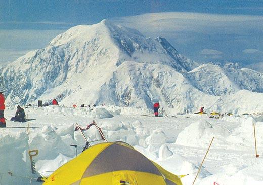 Фото №1 - В снегах на Мак-Кинли
