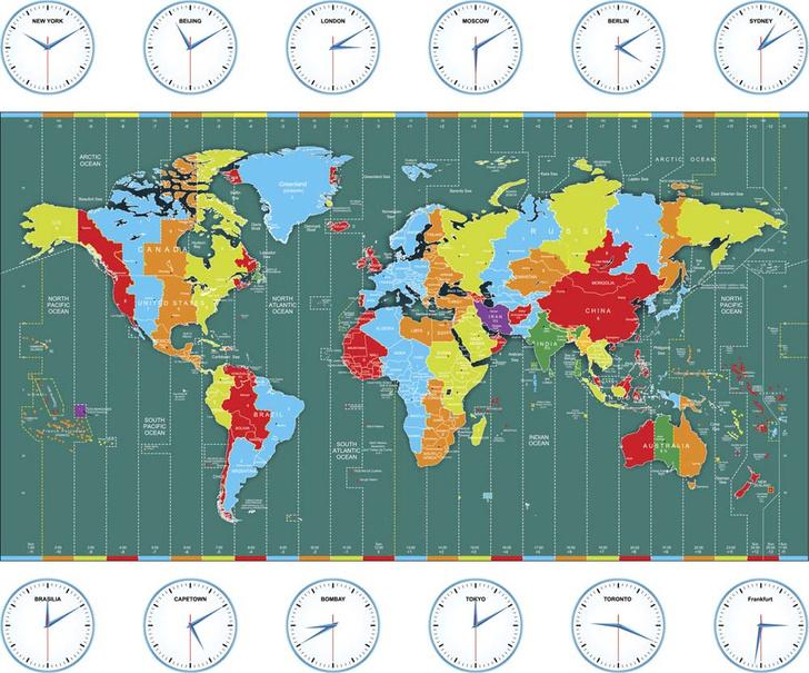 Фото №5 - Сказка о найденном времени: 10 фактов о часовых поясах