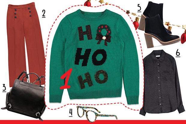 Фото №3 - С чем носить рождественский пуловер