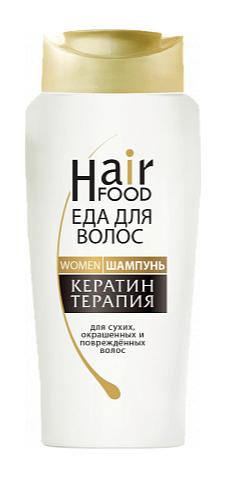 Восстанавливающий шампунь с кератином, Hair Food, 1200 рублей