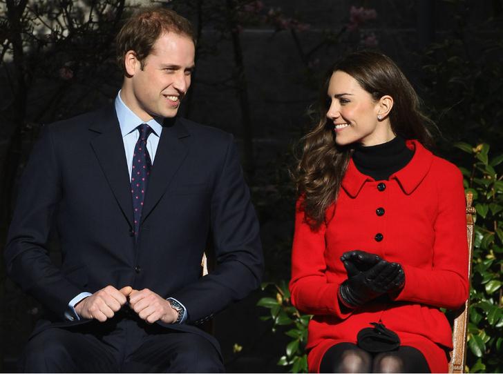 Фото №1 - Пророческая «роль»: зачем Кейт притворялась девушкой принца Уильяма