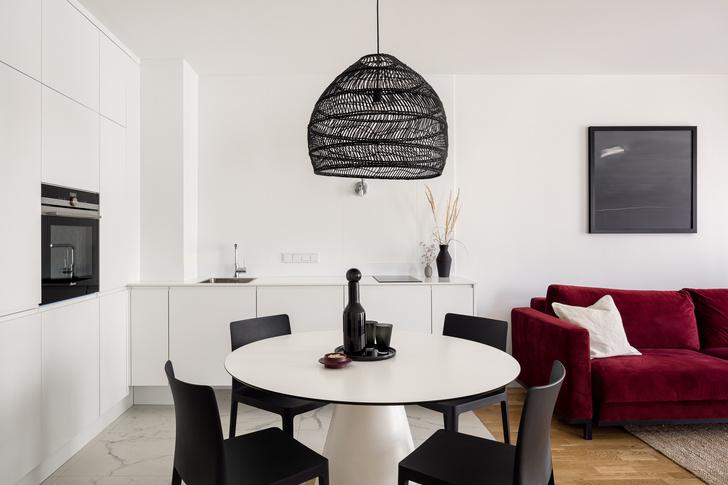 Фото №1 - Минималистская квартира 37 м² в Лодзе