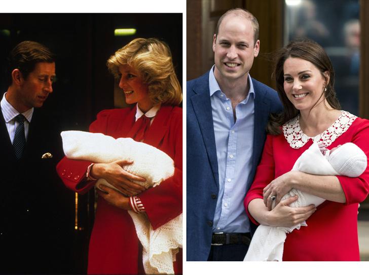 Фото №1 - Как фотосъемка новорожденных наследников короны стала традицией