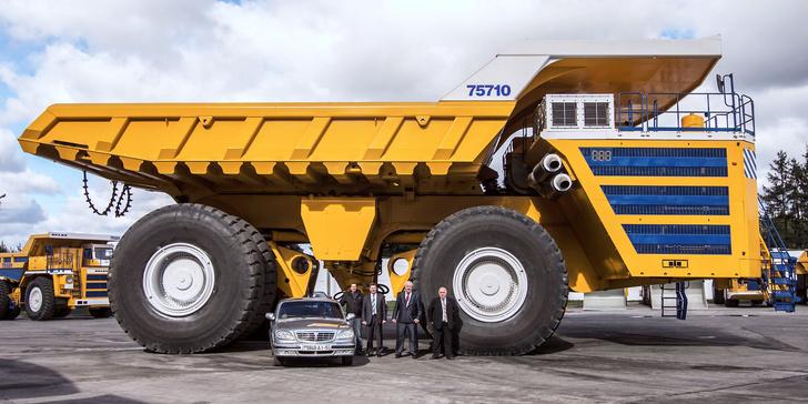 Фото №1 - БелАЗ-75710— наш самый большой в мире грузовик