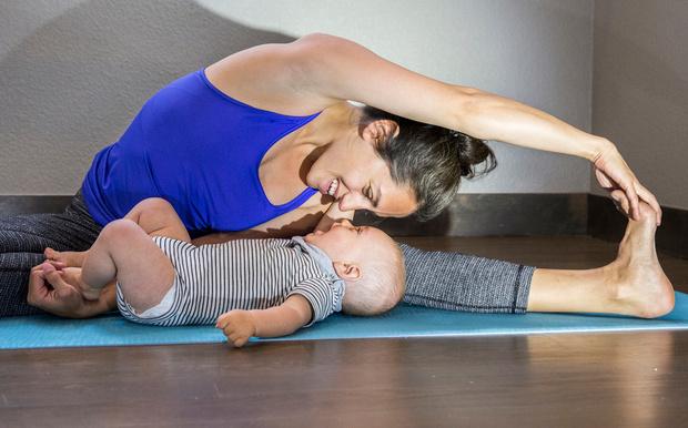 Фото №1 - Развивающая гимнастика: комплекс упражнений для грудничка