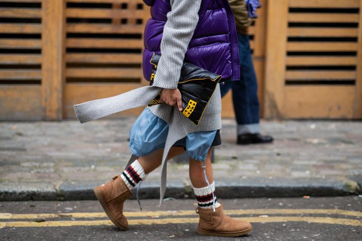Фото №1 - Как носить угги: 7 модных идей