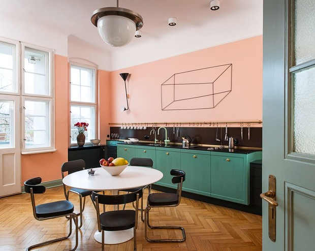 Фото №6 - Маленькая квартира с ярким характером в Берлине