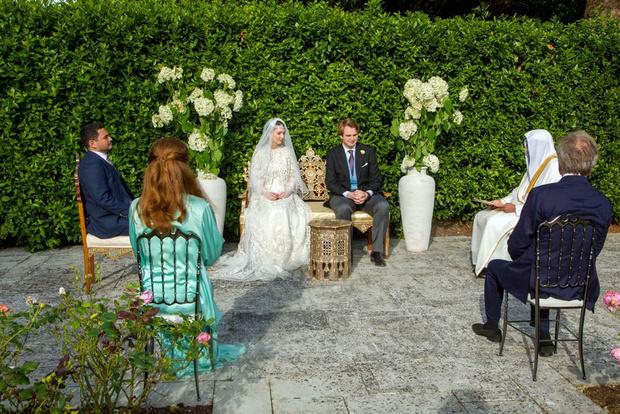 Фото №3 - Первая королевская свадьба в этом году: принцесса Иордании Райя вышла замуж в Лондоне