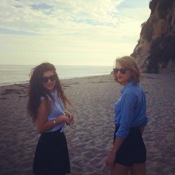Тейлор Свифт подружилась с Lorde