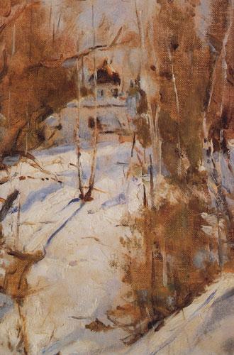 Фото №11 - В ожидании снега: самые красивые зимние пейзажи с полотен великих художников