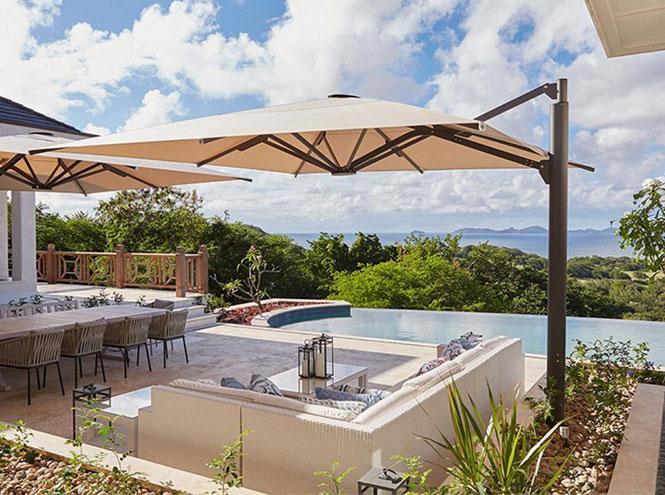 Фото №3 - Кембриджские провели роскошный отпуск на карибском курорте