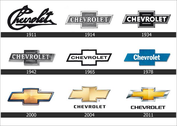 Удивительное постоянство, не правда ли?! Начиная с 1914-м дизайн фирменной эмблемы Chevrolet практически не меняется