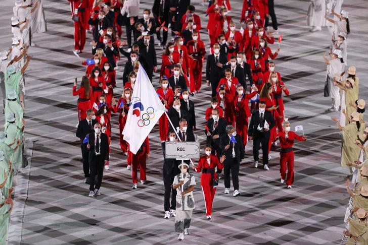 Фото №4 - Пустой зал, песня Миши, «наглые русские»: как прошла церемония открытия Олимпиады в Токио