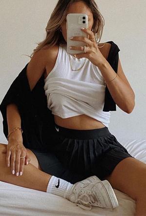 Фото №11 - С чем носить теннисную юбку: 5 идей для любого случая