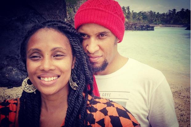 Imany фото с мужем