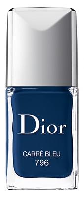 Фото №2 - Вещь дня: Лак для ногтей Dior Vernis Carré Bleu