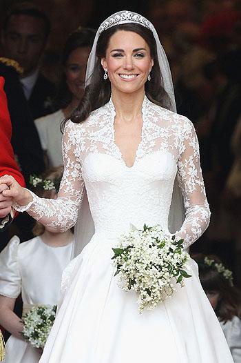 Кейт Миддлтон, фото, свадебное платье