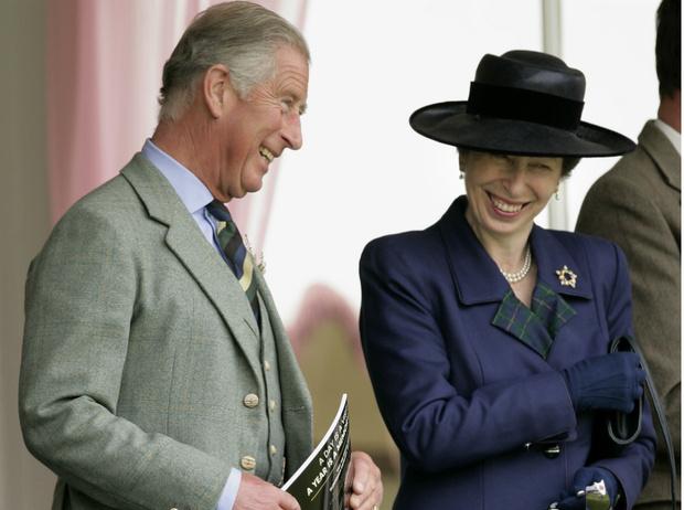 Фото №1 - Королевский анекдот: кто и почему перепутал принцессу Анну с принцем Чарльзом