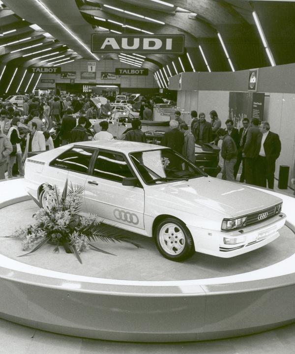 Audi отмечает 40-летний юбилей технологии quattro