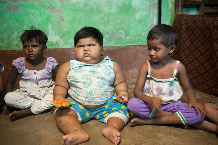 Фото №5 - Крохи-тяжеловесы: 7 самых больших детей в истории