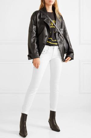 Фото №11 - 3 сочетания с белыми джинсами, которые облегчат сборы