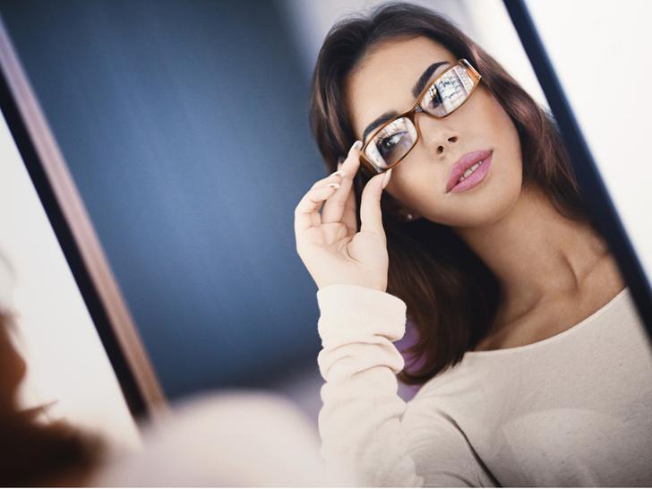 Фото №3 - Как выбрать правильную оправу по типу лица: советы стилиста