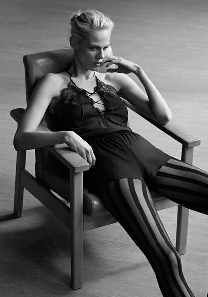 Фото №5 - Неподдельная женственность в новой рекламной кампании Oysho 16/17