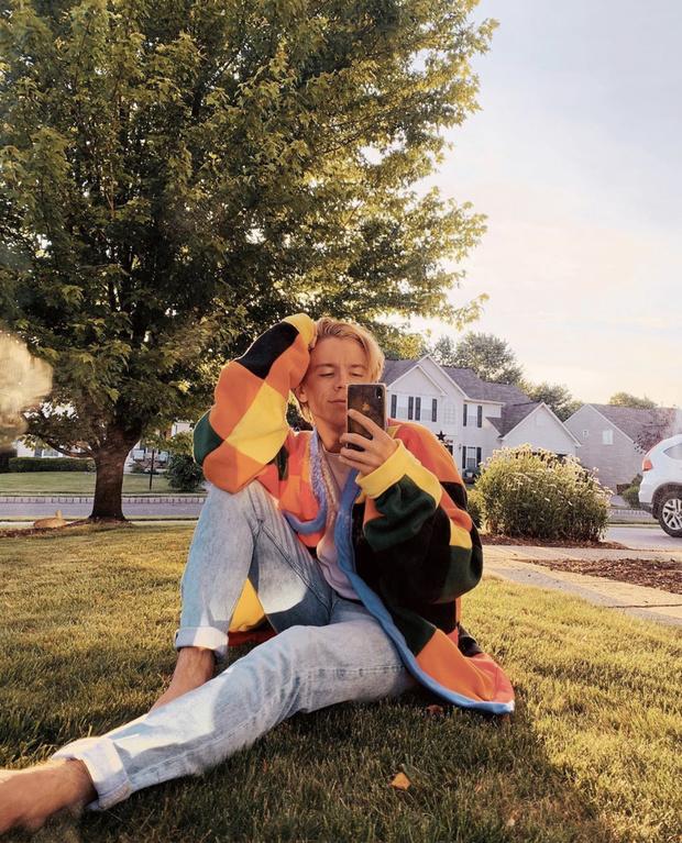 Фото №4 - Как самому связать свитер как у Гарри Стайлса? Дизайнер Джонатан Андерсон делится подробной схемой рисунка