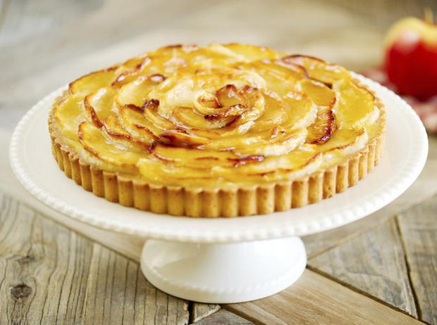 Фото №2 - Рецепт недели: яблочный тарт с грецкими орехами
