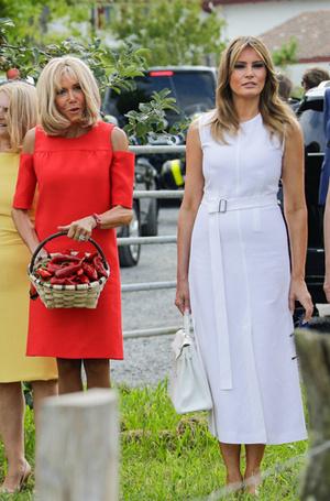 Фото №7 - G7 в Биаррице: как выглядят жены лидеров «Большой семерки»