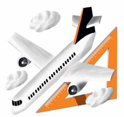 Фото №1 - Что позволяет самолету летать вверх ногами?