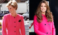 Идеальная копия: 10 платьев Миддлтон как у принцессы Дианы
